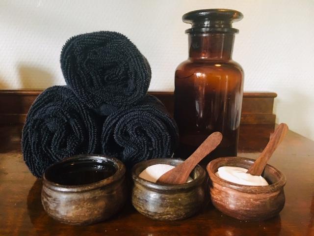 Aroma Bodyscrub for krop & sind m. blid helkropsmassage